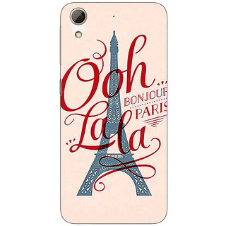 Absinthe Quotes Paris Back Cover Case For HTC Desire 626G
