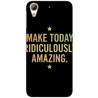 Absinthe Quotes Beautiful Back Cover Case For HTC Desire 626G