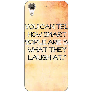 Absinthe Quote Back Cover Case For HTC Desire 626G+