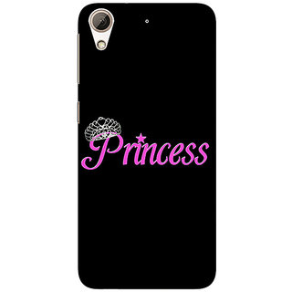 Absinthe Princess Back Cover Case For HTC Desire 626G+