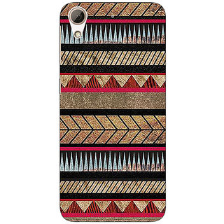 Absinthe Aztec Girly Tribal Back Cover Case For HTC Desire 626S