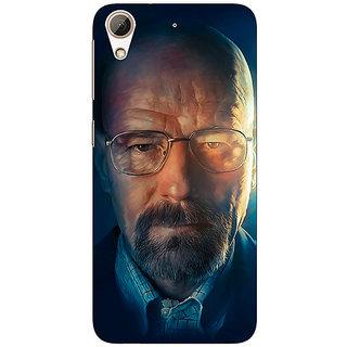 Absinthe Breaking Bad Heisenberg Back Cover Case For HTC Desire 626S