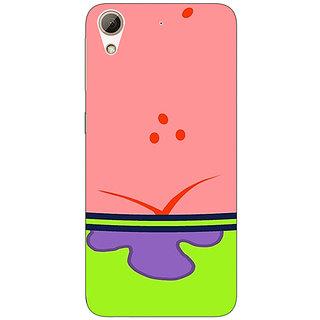Absinthe Spongebob Patrick Back Cover Case For HTC Desire 626S