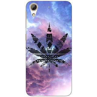 Absinthe Weed Marijuana Back Cover Case For HTC Desire 626G+