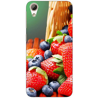 Absinthe Strawberry Love Back Cover Case For HTC Desire 626S