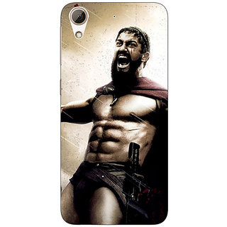 Absinthe King Leonidas Spartan Back Cover Case For HTC Desire 626G+