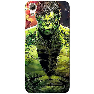 Absinthe The Incredible Hulk Back Cover Case For HTC Desire 626G+
