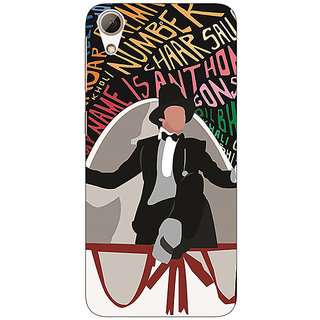 Absinthe Bollywood Superstar Anthony Gonsalves Back Cover Case For HTC Desire 626G+