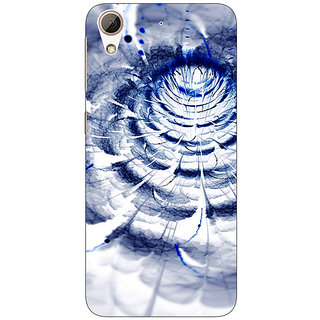Absinthe Abstract Flower Pattern Back Cover Case For HTC Desire 626G+
