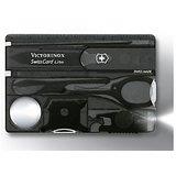 Victorinox Swiss Card Lite Onyx Black Translucent Swiss Army Knife