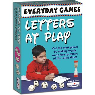Everyday Games-Letters at Play