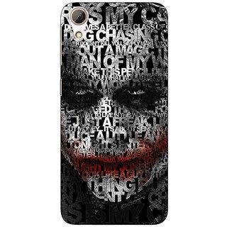 Absinthe Villain Joker Back Cover Case For HTC Desire 728