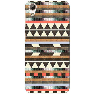 Absinthe Aztec Girly Tribal Back Cover Case For HTC Desire 728
