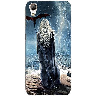 Absinthe Game Of Thrones GOT House Targaryen  Back Cover Case For HTC Desire 728
