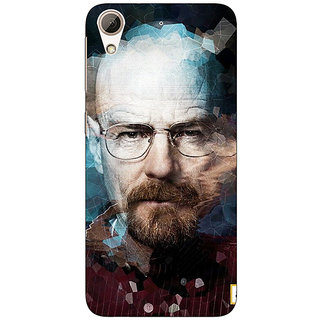 Absinthe Breaking Bad Heisenberg Back Cover Case For HTC Desire 728