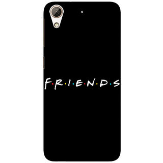 Absinthe FRIENDS Back Cover Case For HTC Desire 728