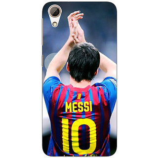 Absinthe Barcelona Messi Back Cover Case For HTC Desire 626S
