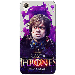 Absinthe Game Of Thrones GOT House Lannister Tyrion Back Cover Case For HTC Desire 626G+