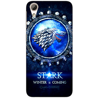 Absinthe Game Of Thrones GOT House Stark Back Cover Case For HTC Desire 626G+