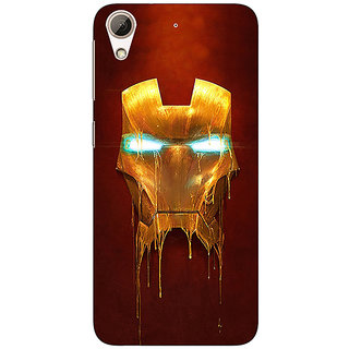 Absinthe Superheroes Ironman Back Cover Case For HTC Desire 728