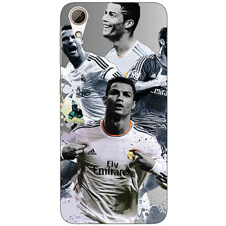 Absinthe Cristiano Ronaldo Real Madrid Back Cover Case For HTC Desire 728