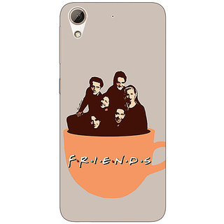 Absinthe TV Series FRIENDS Back Cover Case For HTC Desire 728G Dual Sim