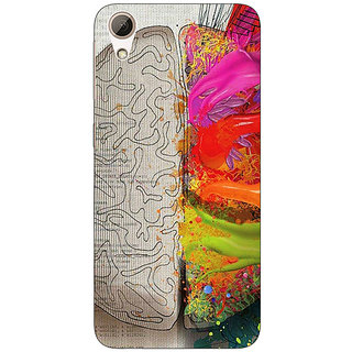 Absinthe Think Different Back Cover Case For HTC Desire 728