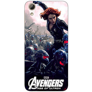 Absinthe Super Heroes Avengers Age of Ultron Back Cover Case For HTC Desire 728
