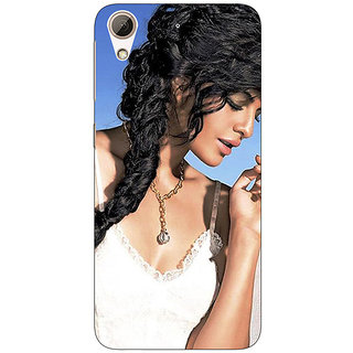 Absinthe Bollywood Superstar Deepika Padukone Back Cover Case For HTC Desire 728