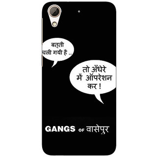 Absinthe Bollywood Superstar Gangs Of Wasseypur Back Cover Case For HTC Desire 728