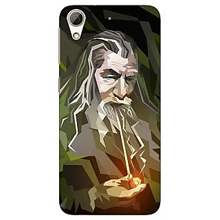 Absinthe LOTR Hobbit Gandalf Back Cover Case For HTC Desire 728