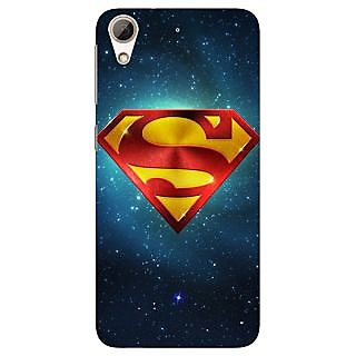 Absinthe Superheroes Superman Back Cover Case For HTC Desire 728G Dual Sim