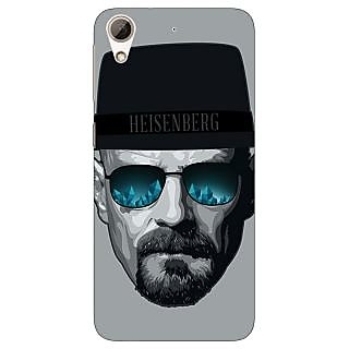 Absinthe Breaking Bad Heisenberg Back Cover Case For HTC Desire 728G Dual Sim