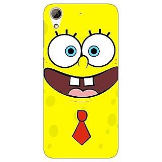 Absinthe Spongebob Back Cover Case For HTC Desire 728G Dual Sim