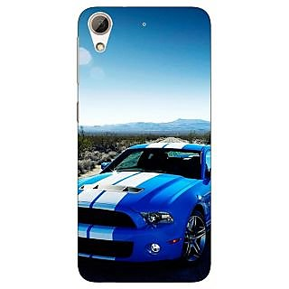 Absinthe Super Car Mustang Back Cover Case For HTC Desire 728
