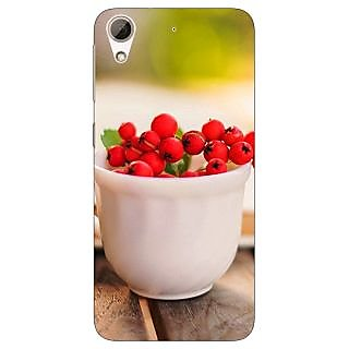 Absinthe Berries Back Cover Case For HTC Desire 728