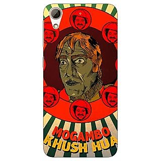 Absinthe Bollywood Superstar Mr. India Mogambo Back Cover Case For HTC Desire 728G Dual Sim