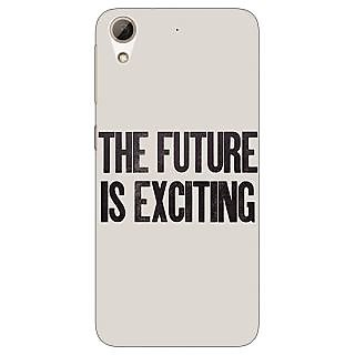 Absinthe Future Quote Back Cover Case For HTC Desire 728