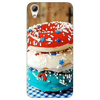 Absinthe Donuts Back Cover Case For HTC Desire 728