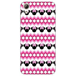 Absinthe Minnie Mouse Pattern Back Cover Case For HTC Desire 728