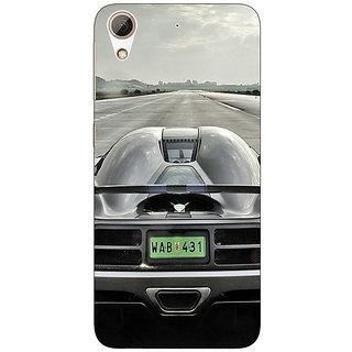 Absinthe Super Car Koenigsegg Back Cover Case For HTC Desire 728 Dual Sim