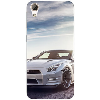 Absinthe Super Car Mustang Back Cover Case For HTC Desire 728G Dual Sim