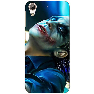 Absinthe Superheroes Villain Joker Back Cover Case For HTC Desire 728G Dual Sim