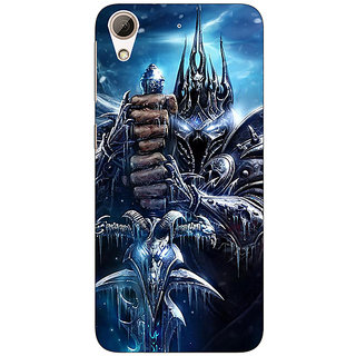 Absinthe World Of Warcraft Back Cover Case For HTC Desire 728G Dual Sim