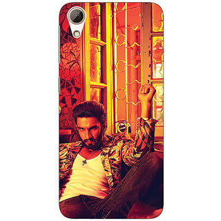Absinthe Bollywood Superstar Ranveer Singh Back Cover Case For HTC Desire 728G Dual Sim