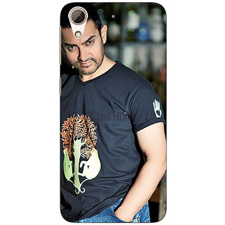 Absinthe Bollywood Superstar Aamir Khan Back Cover Case For HTC Desire 728G Dual Sim