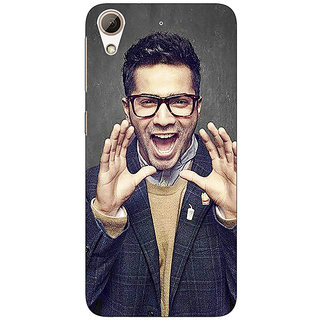 Absinthe Bollywood Superstar Varun Dhawan Back Cover Case For HTC Desire 728G Dual Sim