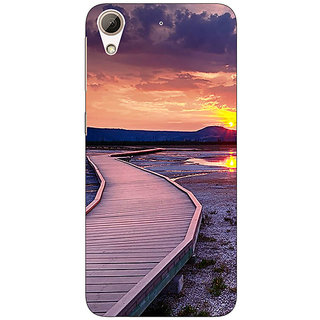 Absinthe Path To Heaven Back Cover Case For HTC Desire 728G Dual Sim