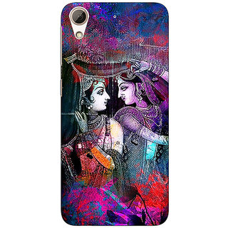 Absinthe Radha Krishna Back Cover Case For HTC Desire 728