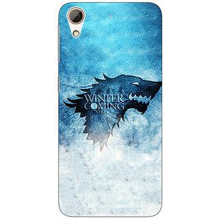Absinthe Game Of Thrones GOT House Stark Back Cover Case For HTC Desire 728